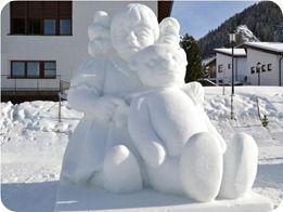 مجسمه های برفی پرویز (6)