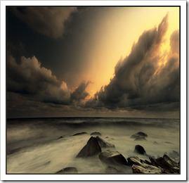 گرد باد وطوفان پرویز (3)