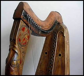 Queen Mary replica harp 19 - Copy