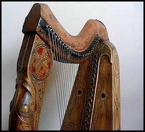 Queen Mary replica harp 19 - Copy